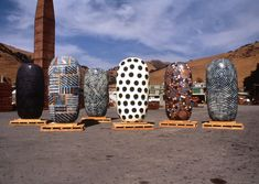 Jun Kaneko Fremont ProjectMission Clay, Fremont Project,1993-1995