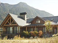 Hybrid Timber Frame Home Gallery | Pemberton, BC | Moore Log & Timber Homes