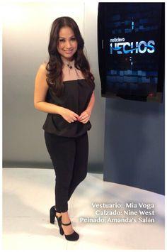 Look del día de @webbcarolina9 by Amandas Salon, Nine West y Mia Voga #AsíSomosOnline #ElSalvador #Look #Moda #Belleza #RoxanaWebb #CélidaMagaña