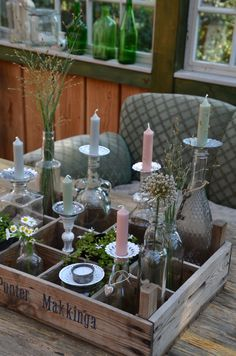 Sweet Home, Table Settings, Shabby Chic, Table Decorations, Allg, Diy, Advent, Furniture, Gardening
