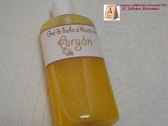 Gel al Aceite de argán. Para las que les guste más el jabón en crema. Suave, hidratante, más que un gel es una crema con abundante espuma. Date un gustazo