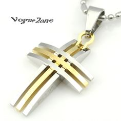 Cheap necklace button, Buy Quality necklace ring directly from China necklace football Suppliers: 2015 Hot Sale! Treble Clef Crystal Stainless Steel pendant necklace Piano Music Note Gifts Gold/Silver/Black BP1044US $ Ring Necklace, Pendant Necklace, Mode Rock, Style Rock, Cheap Necklaces, Bracelet Cuir, Punk Fashion, Style Fashion, Gold Cross