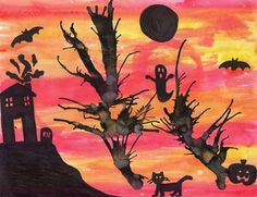 So Festive! » Blog Archive Halloween Art For Kids » So Festive!