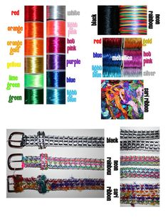 Pop Can Tab Belt  Choose Your Colors by eclecticKel on Etsy, $25.00