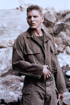 My latest obsession is Barry Pepper as Private Jackson in Saving Private Ryan