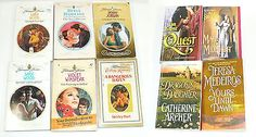 Harlequin Presents/Historical Medieval/Candlelight Ecstasy/Avon Romance Book Lot