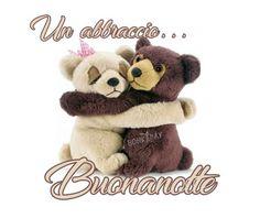 Abbraccio della buona notte Gifs, Good Night, Teddy Bear, Instagram Posts, Dolce, Cristiani, Afrikaans, Puppets, Facebook