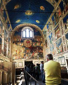 Uscita Padova , Cappella degli Scrovegni -Giotto