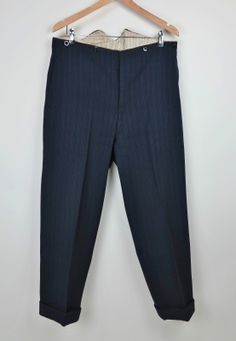 Vtg 1930's Suit 3 Piece Bespoke 1935 Dated Vtg English Suit