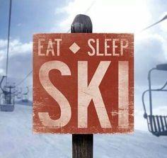 #ski #eatsleepski