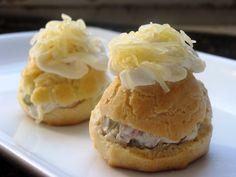 Savory Cream Puffs