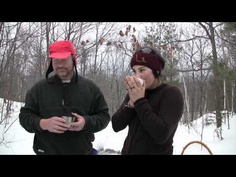 How to Poop in the Woods - during the winter