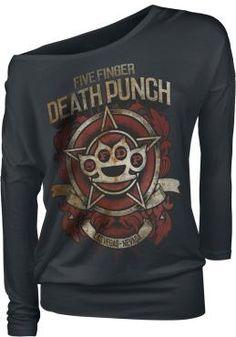 Five Finger Death Punch  Langarmshirt  »Badge Of Honor« | Jetzt bei EMP kaufen | Mehr Band-Merch  Langarmshirts  online verfügbar ✓ Unschlagbar günstig!