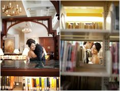 Evdoxia Grammenou: Love and... wedding in The Library!