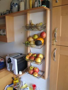 Ikea Hacked Fruit Shelf