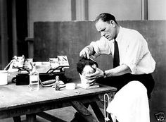 Lon Chaney at work
