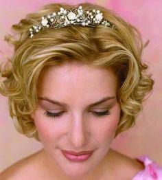 Incredible Very Short Wedding Hairstyles Bridal Tiara For Short Wedding Hairstyle Inspiration Daily Dogsangcom