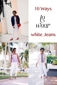 10 ways to wear whit