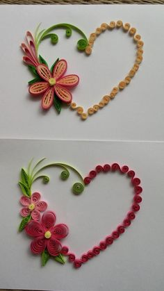 Best For Craft Quilling Paper Flowers If you are looking for Craft quilling paper flowers you've come to the right place. We have collect images about Craft quilling paper flowers includin. Neli Quilling, Paper Quilling Cards, Paper Quilling Patterns, Quilled Paper Art, Quilling Craft, Diy Quilling Projects, Quilled Roses, Quilling Letters, Paper Quilling Tutorial