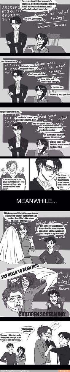 I ship them sooo hard and I might die if theyre not together. This is the best thing ive ever seen, I like the levi part