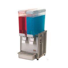 Dispensador de Bebidas Frias 2 tanques de 2.4 galones/ Cold Drink Dispenser 2 tanks of 2.4 galons.