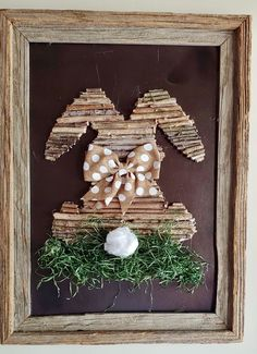 Easter Art, Hoppy Easter, Easter Crafts, Easter Bunny, Spring Crafts, Holiday Crafts, Twig Crafts, Easter Projects, Easter Ideas