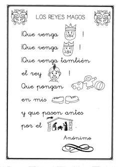 Poesias infantiles Spanish Immersion, Spanish Songs, Spanish Vocabulary, Religion, Activities, How To Plan, Education, School, Blog