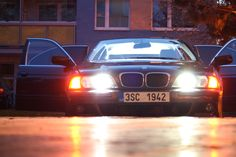 BMW e39 royal red