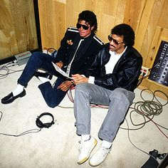 Michael Jackson 1981 - 1990 with Linonel Richie