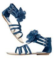 AVON Floral Gladiator Sandal  Shop my Online Store! www.youravon.com/milcasimeon