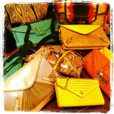 Bags Galore! @Rebecca Minkoff