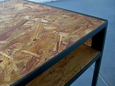 Custom Made Osb Desk