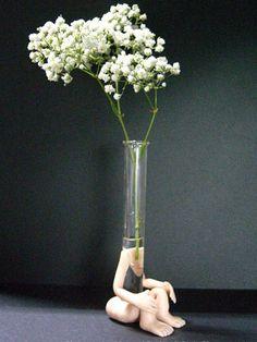 1000 images about test tube vase on pinterest test for Test tube flower vase rack