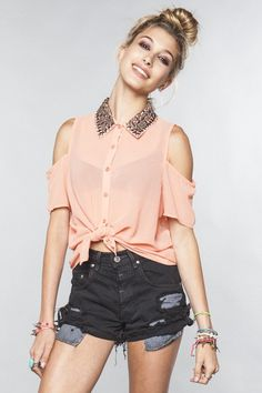 "Check out Alisha M.'s ""Brandy Melville "" decalz @Lockerz"