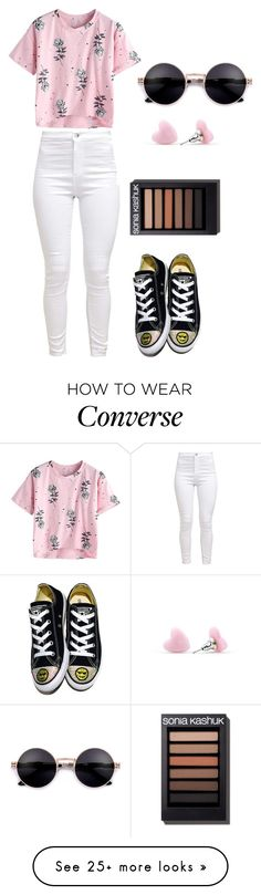 """Untitled #2254"" by aiag on Polyvore featuring Converse"