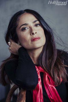 Salma Hayek by Austin Hargrave