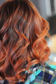 Brilliant copper hair color by @StylistShannonNicole