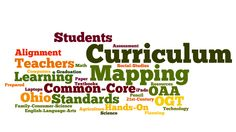 Curriculum mapping for common core