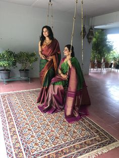 Sakhifashions - New Launch Pure Kanchivaram sarees Indian Bridal Sarees, Pure Silk Sarees, South Indian Sarees, Silk Saree Blouse Designs, Saree Blouse Patterns, Latest Silk Sarees, Silk Saree Kanchipuram, Kanjivaram Sarees, Bandeau Outfit