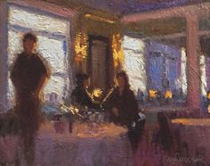Evening Chat by Joseph Gyurcsak Country Landscaping, Oil Painting Abstract, Still Life, Interior And Exterior, Galleries, Joseph, Drinking, Art Pieces, Sculptures