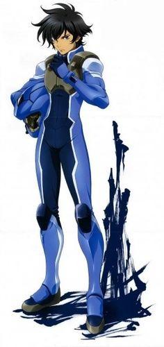 Setsuna F. Seiei (刹那・F・セイエイ Setsuna Efu Seiei) is a 21 year old Innovator from the Republic of Krugis. Setsuna is a Gundam Meister for the organization Celestial Being. Setsuna currently pilots the GN-0000+GNR-010 00 Raiser.