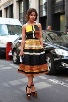Slideshow: Street Style From the Haute Couture Shows -- The Cut