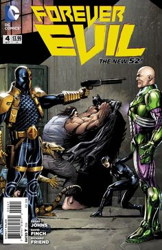 COMICS: Batman And Lex Luthor Prepare For War In First Look At FOREVER EVIL #4