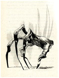 "Dave McKean - Illustration for Neil Gaiman's book ""Coraline"" (2002)"
