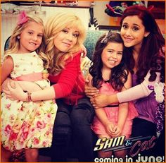 i wish I was one of those little gurls,because I would get to hang out with janette mcurdy and ariana grande