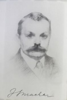 From the European Studies blog 'Politics, polemics and prostitutes: Josef Svatopluk Machar'. Image: Portrait of Machar from Tristium Vindobona (Prague, 1908)