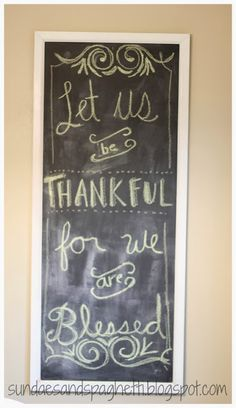 let us be thankful for we are blessed - thanksgiving quote