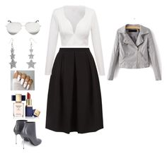 """""""Untitled #209"""" by greenneyes ❤ liked on Polyvore featuring Monsoon, Victoria Beckham, Estée Lauder and Balenciaga"""
