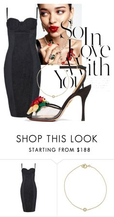 """Untitled #656"" by pauloskompanieros on Polyvore featuring KAROLINA, Dolce&Gabbana and Charlotte Olympia"