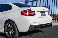 BMW F22 M235i 3D Style Carbon Fiber Rear Diffuser